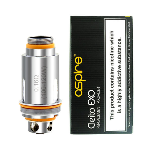 Aspire Cleito Exo Vape Atomizer Replacement Coil Heads