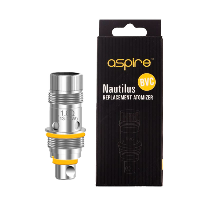 Aspire Nautilus Vape Atomizer Replacement Coil Heads (bvc)