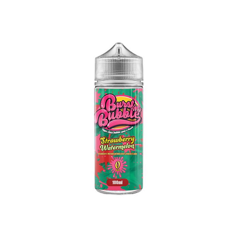 Strawberry Watermelon 100ml Eliquid By Burst My Bubble
