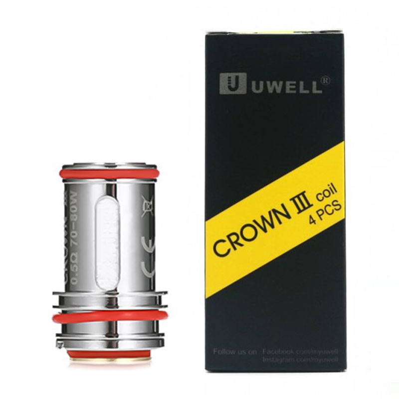 Uwell Crown V3 Mini Vape Atomizer сменяеми глави