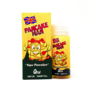 Pancake Man 100ml Short Fill By Vape Breakfast 120