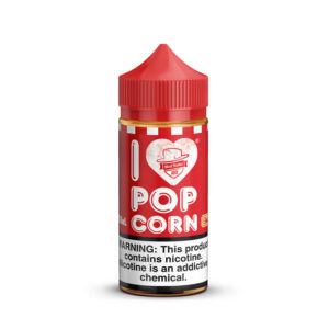 I Love Popcorn By Mad Hatter Juice Short Fill