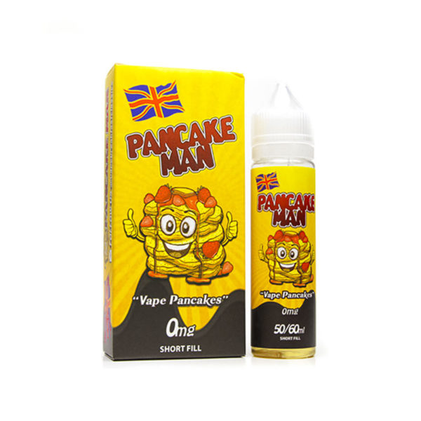 Pancake Man 50ml Short Fill By Vape Breakfast Classics