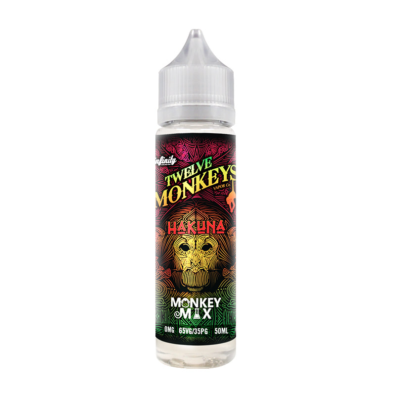 Tropika By Twelve Monkeys Stutt fylling