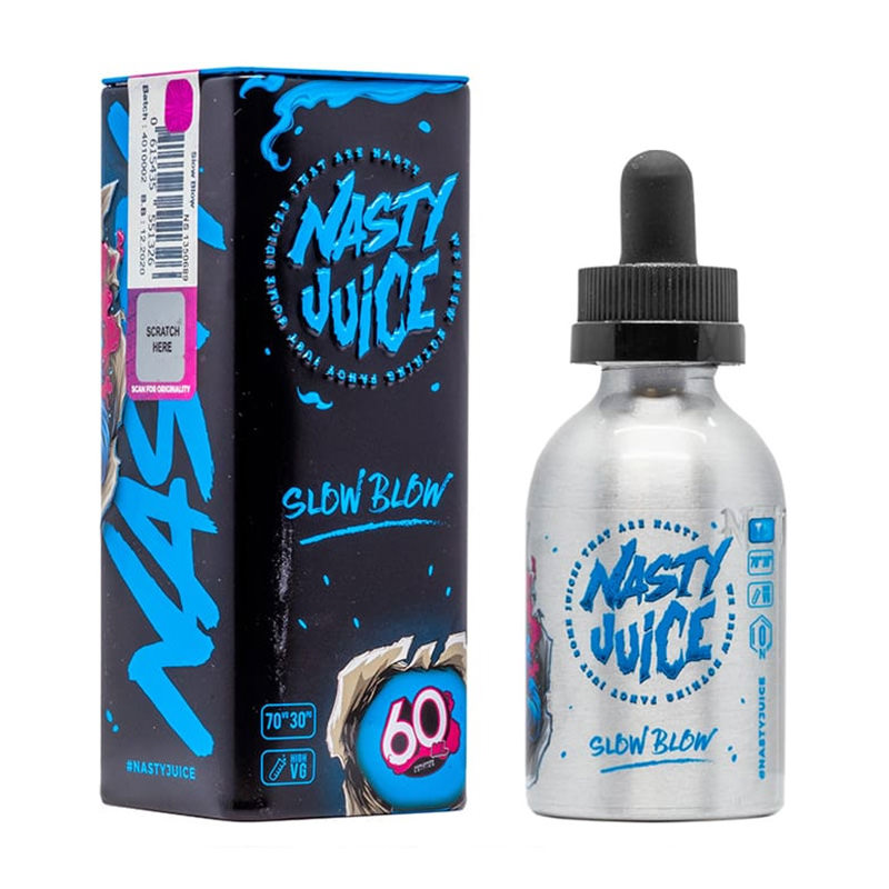 Slow Blow By Nasty Juice Short Fill