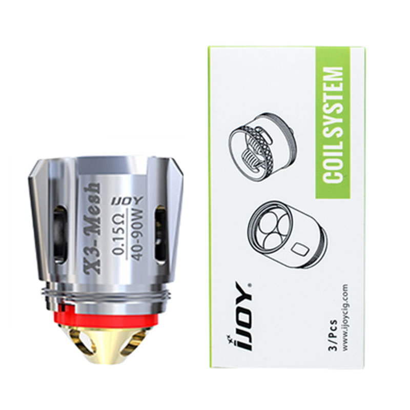 Ijoy X3 Vape Atomizer Replacement Coil Heads