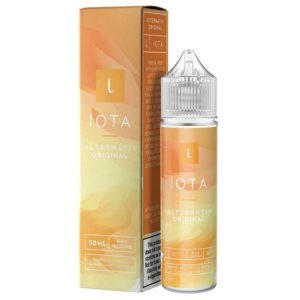 Iota 50ml Eliquid Shortfill Bottle With Box By Marina Vape Alternativ