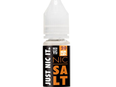 Just Nic It 80/20 Nic Salt Booster Shot