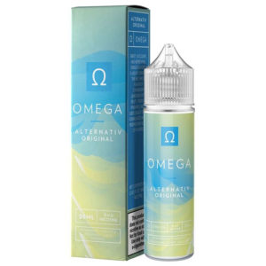Omega 50ml Eliquid Shortfill Bottle With Box By Marina Vape Alternativ