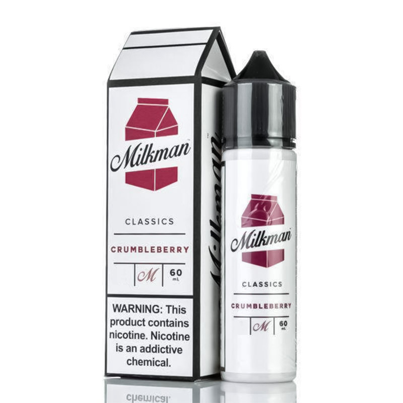 Crumbleberry 50ml Eliquid Shortfills By The Milkman