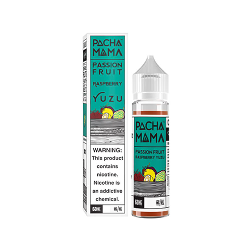 Passionfruit Raspberry Yuzu 50ml Eliquid By Pacha Mama