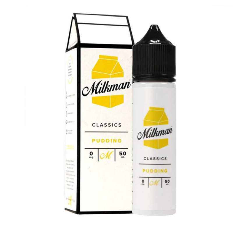 Pudding 50ml Eliquid Shortfills By The Milkman