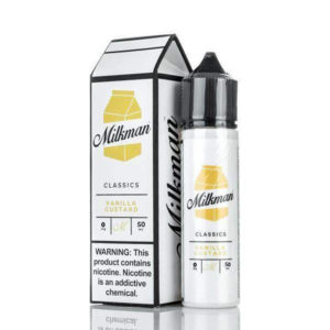 Vanilla Custard 50ml Eliquid Shortfills By The Milkman