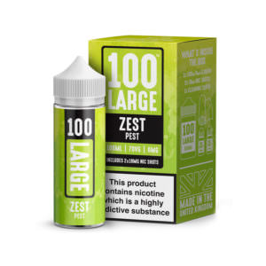 Zest Pest 100ml Eliquid Shortfill By 100 Large Juice