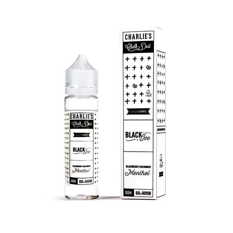 Eliquid Black Ice 50ml Shortfill Por Charlies Chalk Dust 1