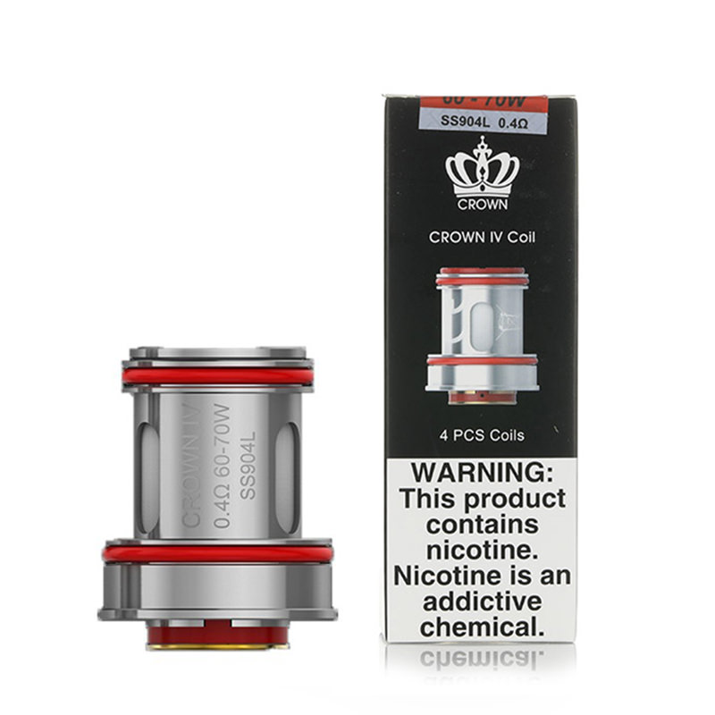 Uwell Crown Iv Vape Replacement Atomizer Coil Heads
