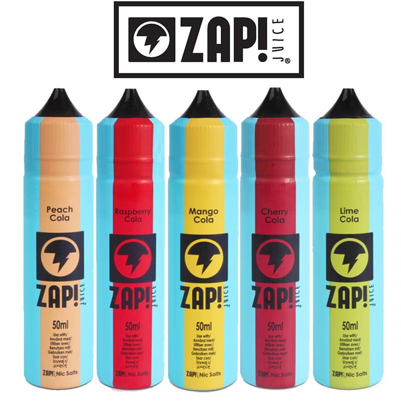 Zap! Vintage Cola Range Shortfills