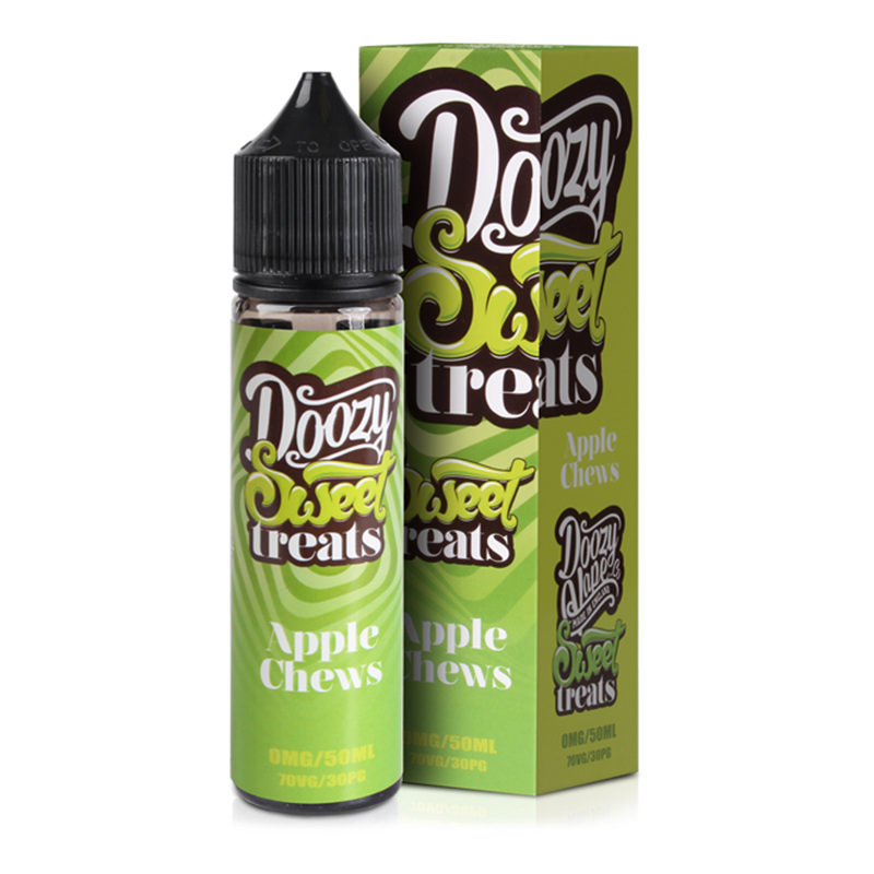 Apple Chews 50ml Eliquid Shortfill De Doozy Gâteries mangeable