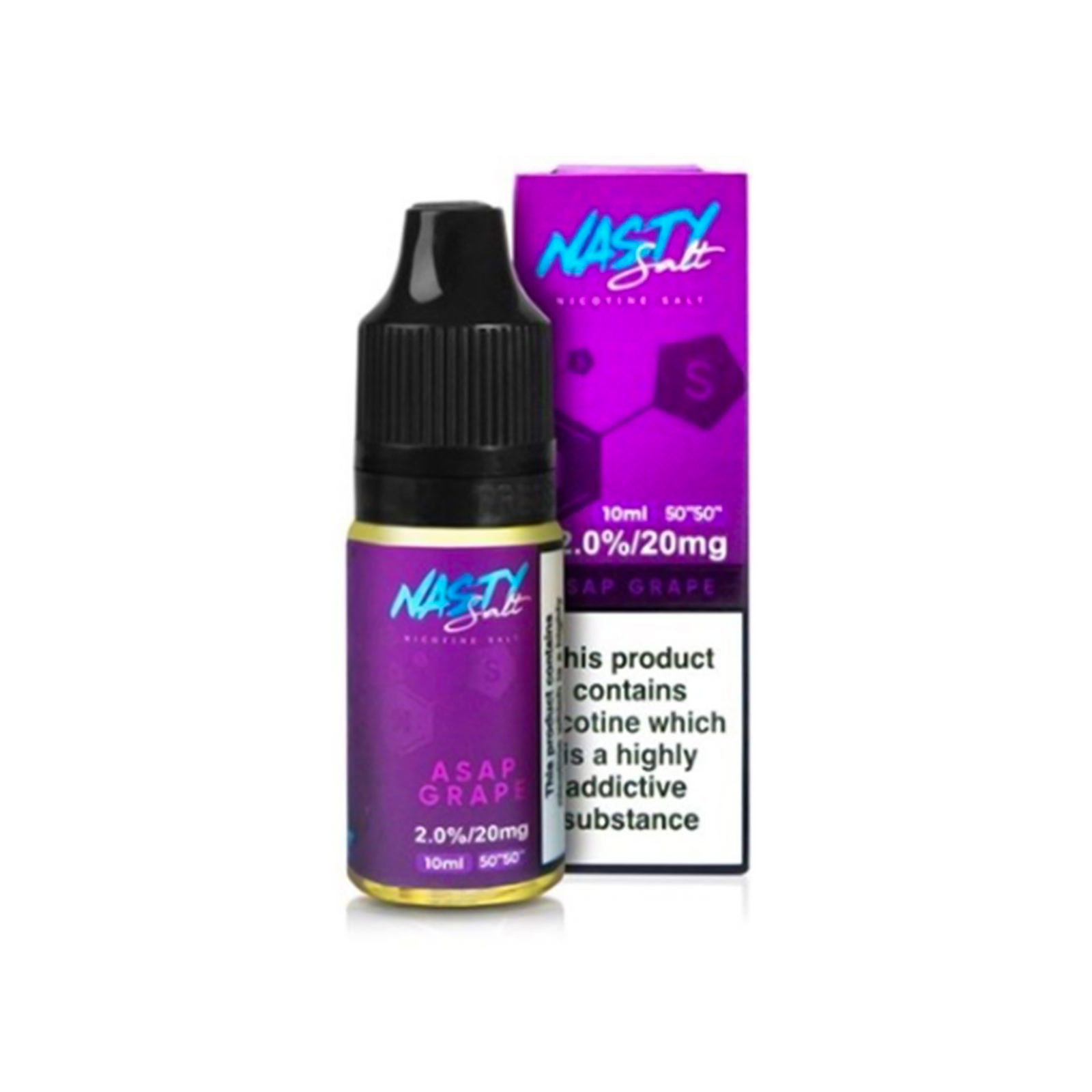 Asap Grape Nic Salt Eliquid By Nasty Zout Nasty Juice