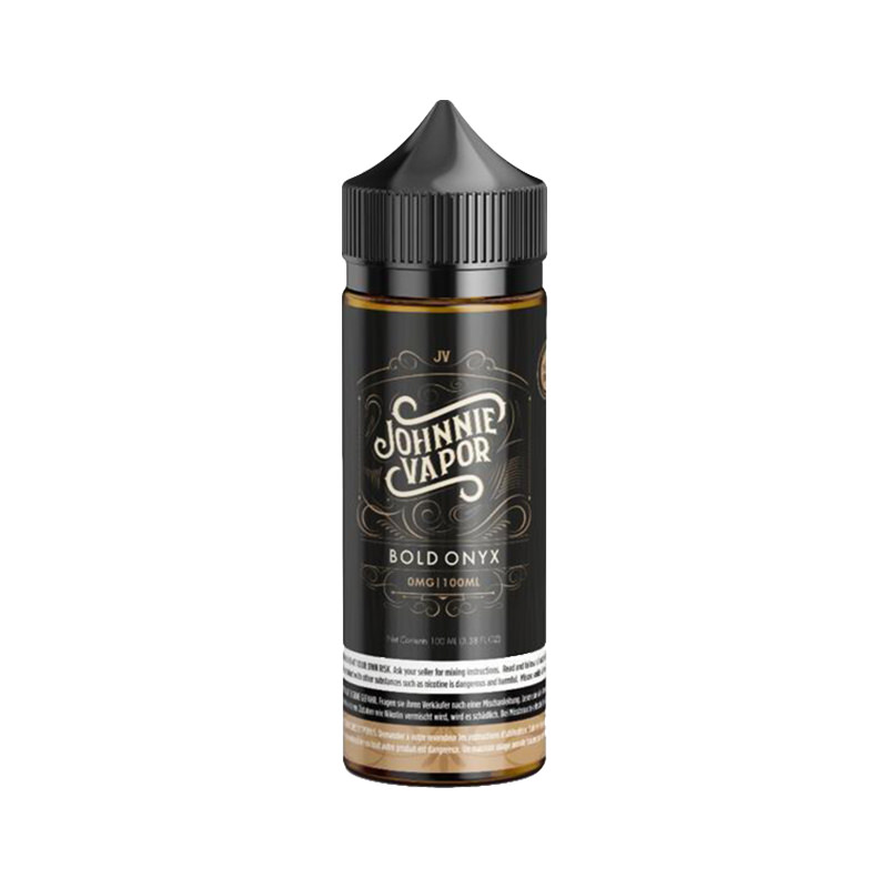 Bold Onyx 100ml Eliquid Shortfills By Johnnie Vapor Ruthless