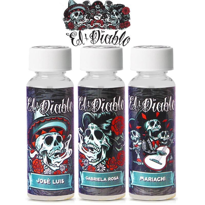 El Diablo Black Edition Shortfills