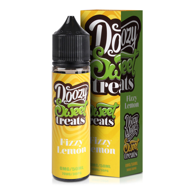 Limón Efervescente 50ml Eliquid Shortfill By Doozy Dulces