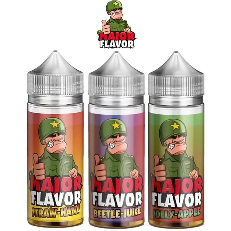 Major Flavor Shortfills