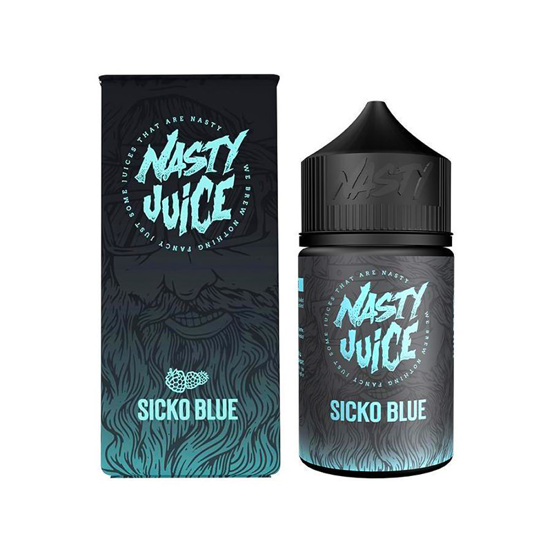 Sicko Blue 50ml Eliquid Shortfill By Nasty Juice Berry Serien