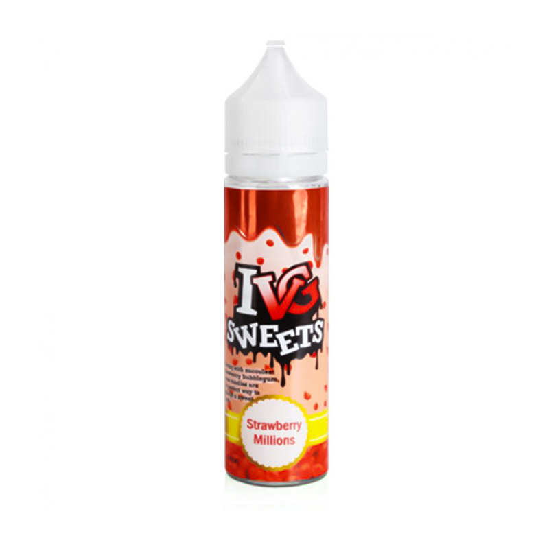 Strawberry Millions 50ml Eliquid Shortfills By I Vg Sweets