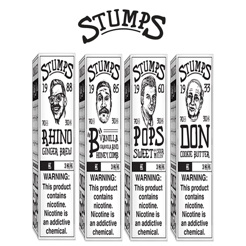 Stumps E-Liquid Shortfills