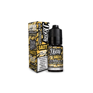 Vanilla Custard 10ml Nicotine Salt Eliquid By Doozy Vape Salts