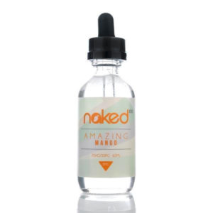 Amazing Mango 50ml Eliquid Shortfills By Naked 100