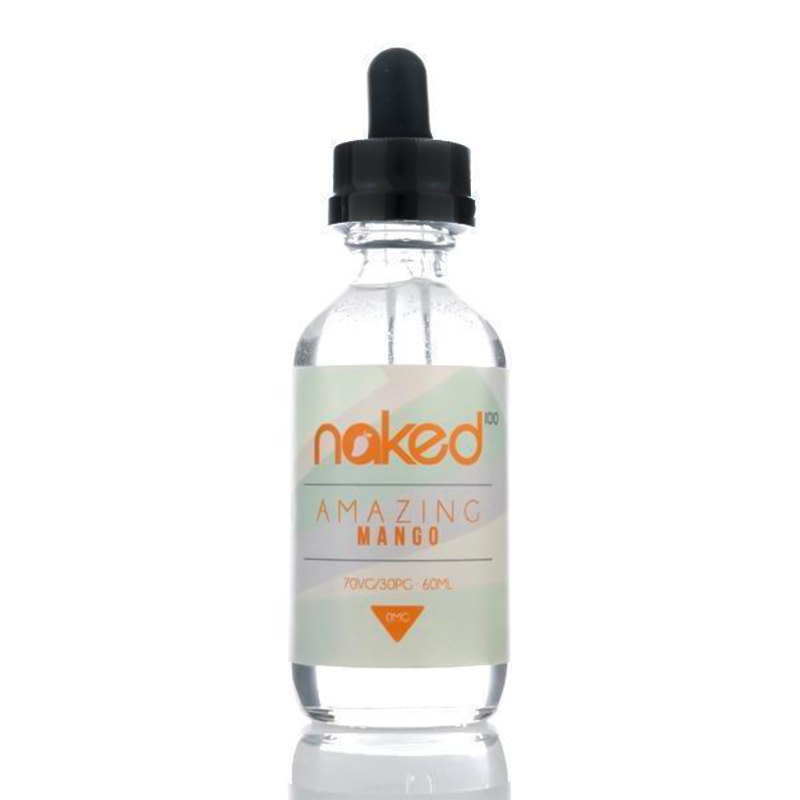 Amazing Mango 50ml Eliquid Shortfills par Naked 100