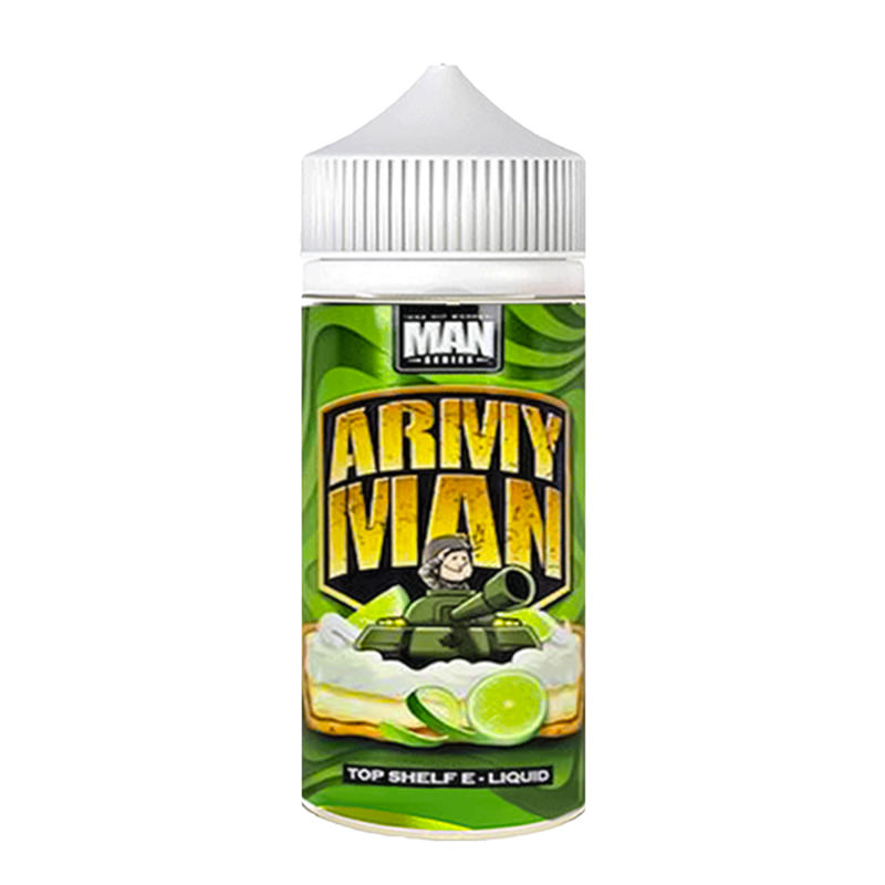Army Man 100ml Eliquid Shortfills By One Hit Wonder