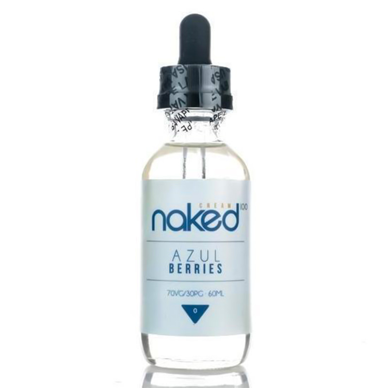 Azul Berries 50ml Eliquid Shortfills Par Naked100 Cream