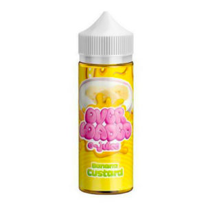 Banana Custard 100ml Eliquid Shortfills By Over Loaded