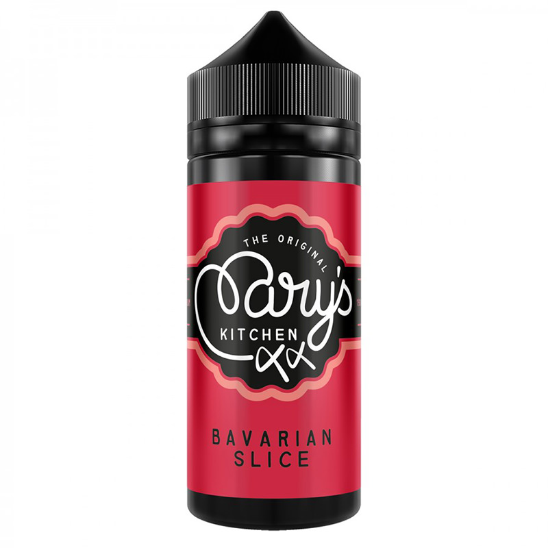 Bavarian Slice 100ml Eliquid Shortfill Por Marys Kitchen