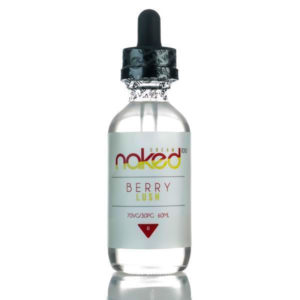 Berry Lush 50ml Eliquid Shortfills By Naked100 Cream