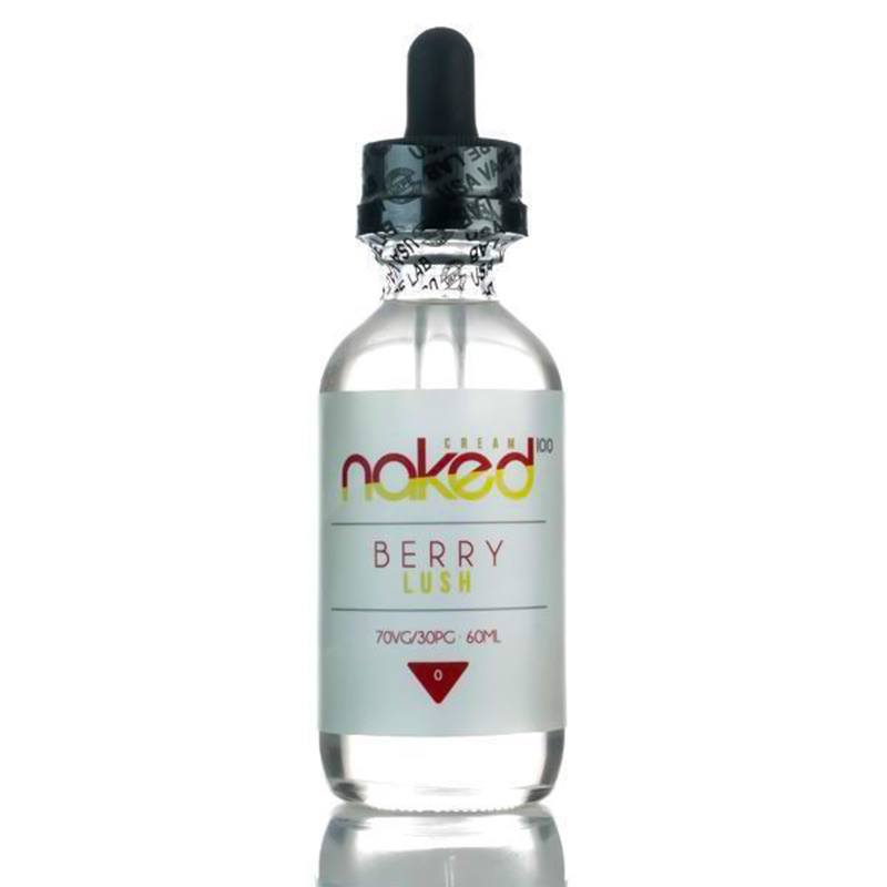 Berry Lush 50ml Eliquid Shortfills Eftir Naked100 Cream