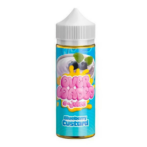 Blueberry Custard 100ml Eliquid Shortfills By Over Loaded