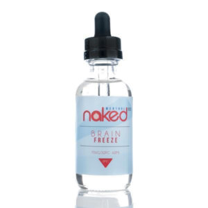 Brain Freeze 50ml Eliquid Shortfills By Naked100 Menthol