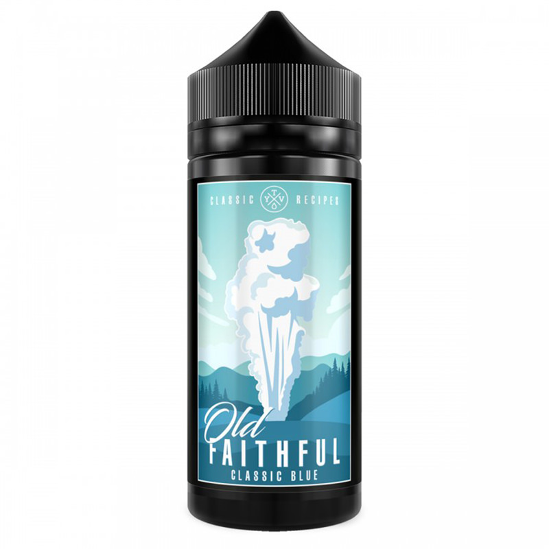 Eliquid Classic Blue 100ml Shortfills Por Old Faithfull Tyv