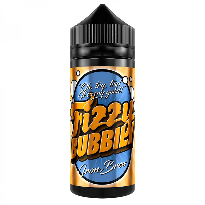 Iron Brew 100ml Eliquid Shortfill De Fizzy Bubbly