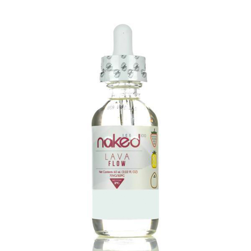 Lava Flow Ice 50ml Eliquid Shortfills par Naked 100