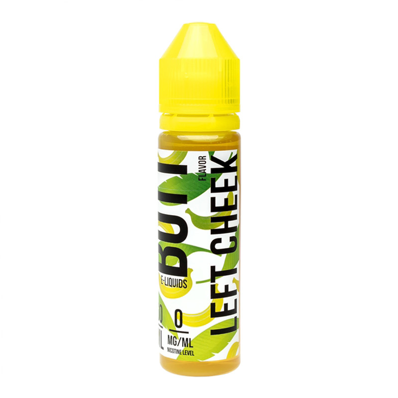 Left Cheek 50ml Eliquid Shortfill By Banana Butt