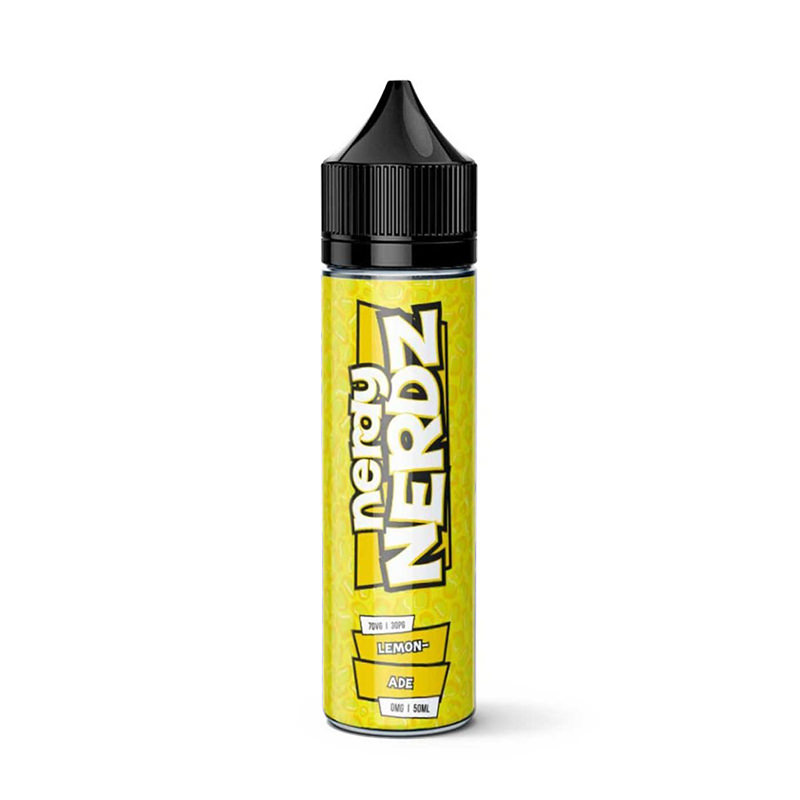 Lemonade Fruit 50ml Eliquid Shortfills By Nerdy Nerdz