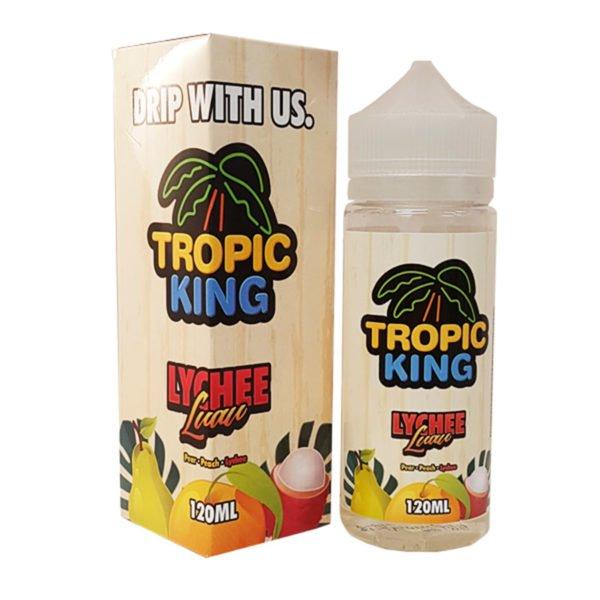 Lychee Luar 100ml Eliquid Shortfill By Tropic King