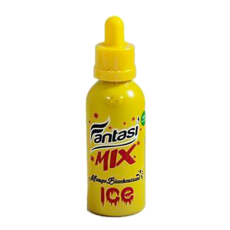 Mangue Cassis Glace 50ml Eliquid Shortfill De Fantasi