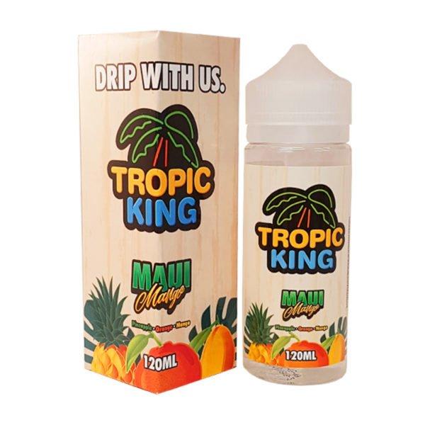 Maui Mango 100ml Eliquid Shortfill By Tropic King