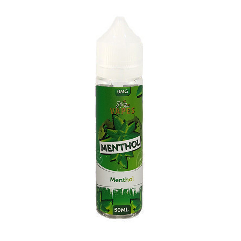 Menthol 50ml Eliquid Shortfill By The King Of VapeMenthol-Bereich